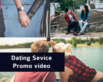 Dating Service, Dating App, Online Dating, Dating Website, Match Making  Website Promo