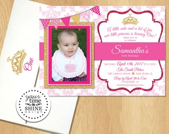 Princess Invitation with Picture