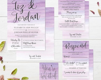 Affordable Wedding Invitations Online, LDS Wedding Invite Template, DIY Wedding Invitations Affordable, Wedding Invitations DIY Printable
