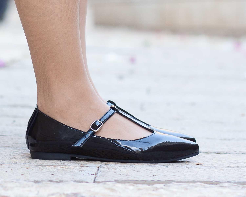 Ballerines en cuir bout pointu, chaussures en cuir pour pour pour femme, rayures, rouge, glisse Ons, ballerines, livraison gratuite 2d2f78