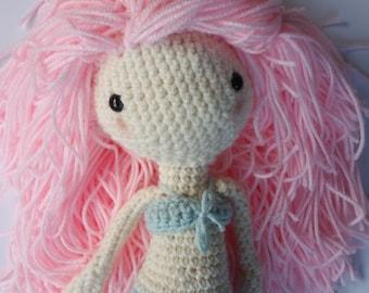 Mermaid Doll // Amigurumi // Stuffed Toy // Gift // Little Girl