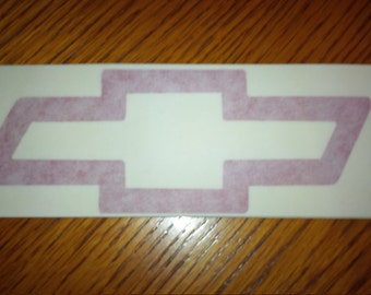 Chevy Bow Tie Decal