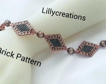 Peyote Pattern Bracelet Artistict