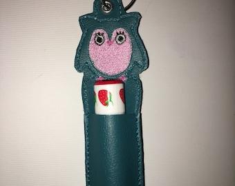 Owl Chapstick Holder