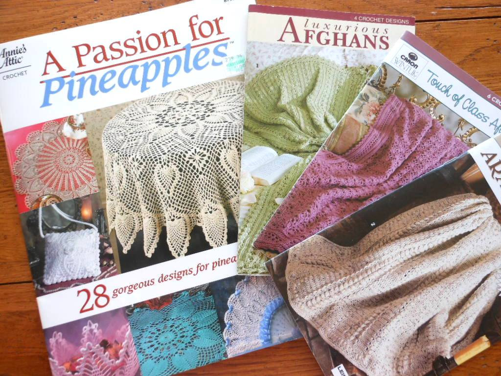 Annies Attic A Passion For Pineapples Crochet Patterns Book Plus 3
