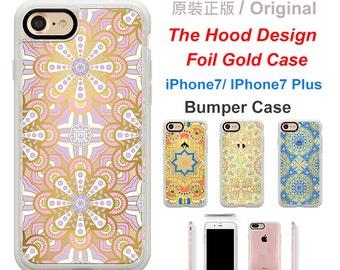 Original The Hood foil gold  For Iphone7 case  ,Iphone7 Plus case,Bumper Case, Phone Case,