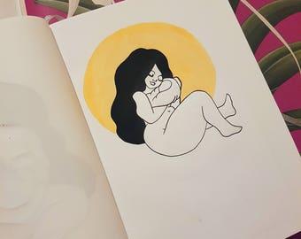 Lady 003 Print