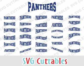 Panthers svg, Panthers cut file, svg, eps, dxf, Panthers mascot, Panthers layouts, svg cuttables, Silhouette, Cricut cut file, Digital file