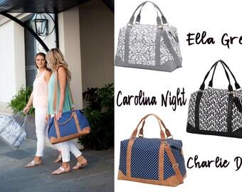 Weekender Bag, Monogrammed Overnight Bag, Monogrammed Weekender Bag, Monogrammed Travel Bag, Overnight Bag, Monogrammed Bag
