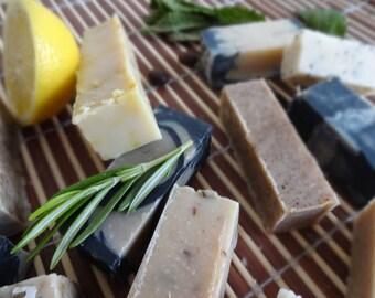 Natural Handmade Soap Samples, Testers, Homemade, Paraben Free, SLS Free, Beer Soap, Goat Milk Soap, Bar Soap, Natural Skincare, 25g