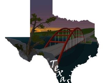 Texas: Pennybacker Bridge