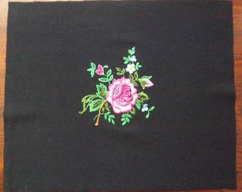 Applique Bouquet des fleurs à coudre