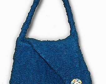 The Flapper Hand Knit Felted Purse Pattern PDF