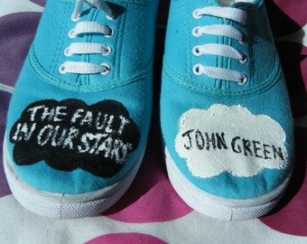The Fault in Our Stars - Custom Shoes