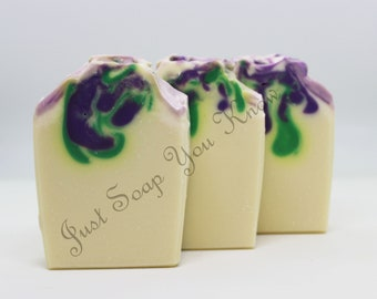 Lovely Lilac Cold Process Handmade Artisan Soap
