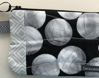 X-Small Volleyball Zip Pouch