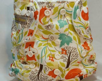 Cleaver Fox One Size Pocket Diaper