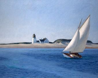Edward Hopper The Long Leg, c.1930