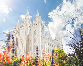 Salt Lake City, Utah LDS Mormon Temple