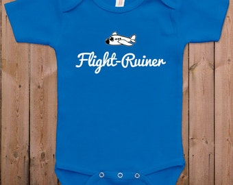 Funny baby clothes newborn baby clothes Flight ruiner cool baby clothes baby gift idea baby bodysuit one piece romper