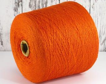 Silk yarn on cone, Italy, 100% Italian silk, per 100g/art. 1010