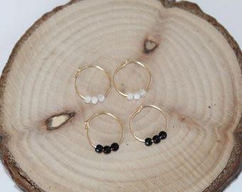 Moonstone earrings / moonstone earrings