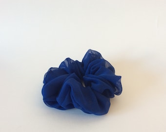 Night Blue Scrunchie - Handmade Scrunchie