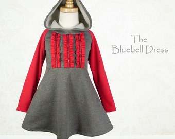 Girls Dress Pattern, Childrens Sewing Pattern PDF, Dress Sewing Patterns, Toddler Patterns, Girls Sewing Patterns, BLUEBELL