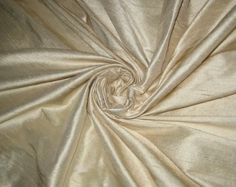 Ivory 100% Dupioni Silk Fabric Bridal Wholesale Roll/ Bolt