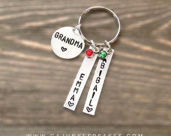Custom Circle   Change Circle   Personalized   Handstamped Jewelry