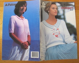 Patons Supersoft DK Pattern Booklet / Beehive 620 / women's summer knitting patterns