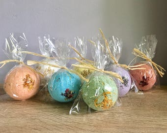 Bath Bomb Shower Favors