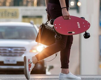 Maroon Red Elos Skateboard Classic Series