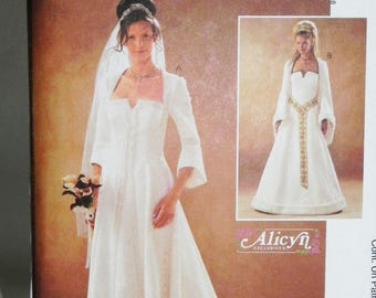 Medieval Wedding Dress Pattern