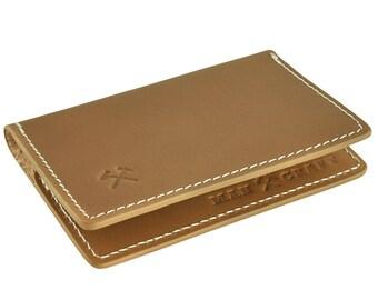Mancraft Minimalist Card Wallet - Genuine Leather