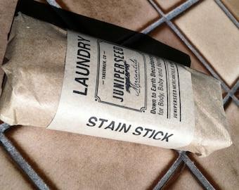 Petite once de 1-2 tache bâton - naturellement doux lessive biodégradable et barre de tache - Sweet Orange et thym - idéal pour les plats trop