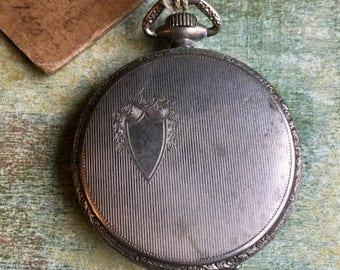 Antique pocket watch case