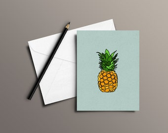 Tropicanna   Greetings Card