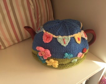 T- time bunting -Tea Cosy.