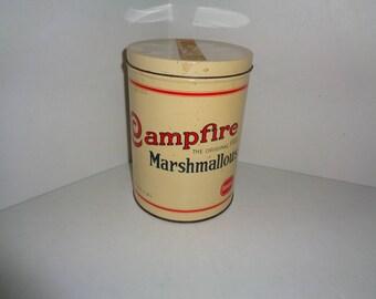 Vintage Campfire Marshmallows Tin (1 lb)