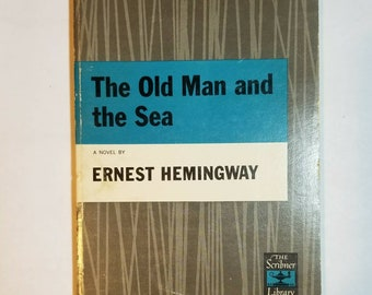 1952 SC The Old Man and Sea Ernest Hemingway The Scribner Library