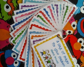 Praying for your Children - Prayer cards