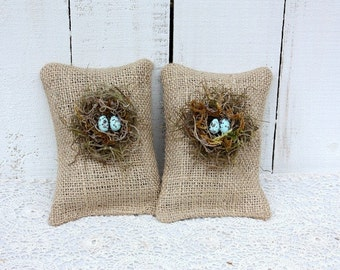 Bird nest sachets filled with lavender buds,As Seen On HGTV