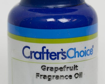 Grapefruit Fragrance Oil 2 oz, in Blue Glass Bottle for Melt & Pour and Cold Process Soap (114)