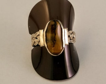 Tiger eye and weave