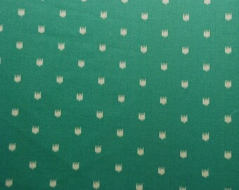 FABRIC SALE!!! Teal Dots Upholstery Fabric, Fabric By The Yard
