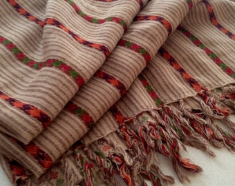 20th Century Wool Throw