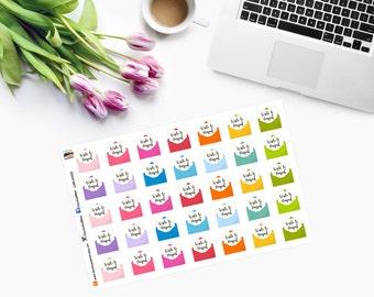 Write to Penpal Planner Stickers CAM00222