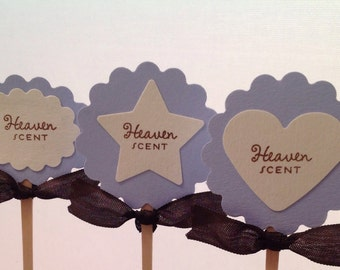 Baby Boy Shower Cupcake Pick and Toppers