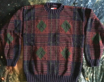 Vintage Tommy Hilfiger Heavy Weight Knit Sweater
